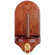 Sterling Deluxe Cone Chalk Holder, Mahogany