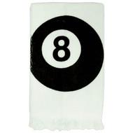 8-Ball Cue Towel