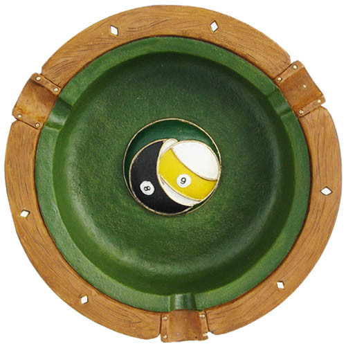 Artistic Billiard Ash Tray