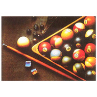 Antique Billiards Print