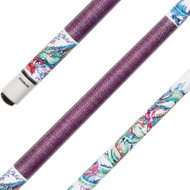 Sterling Chinese Dragon Pool Cue