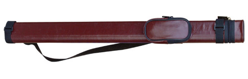 Sterling Brown Hard Pool Cue Case for 1 Cue