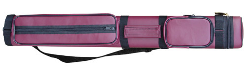 Sterling Burgundy Hard Pool Cue Case for 2 Cues
