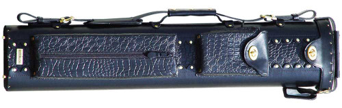 Sterling Black Pro Pool Cue Case for 3 Butts, 5 Shafts