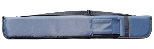 Sterling Blue Deluxe Nylon Pool Cue Case for 1 Cue