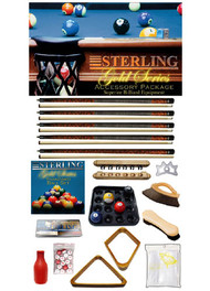 Sterling Gold Series Accessory Package, Oak