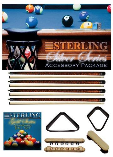 Sterling Silver Series Accessory Package, Oak