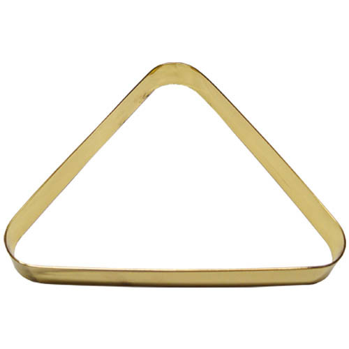 Brass Designer Pool Ball Triangle