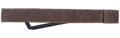 Sterling Brown Velvet Cue Case with Shoulder Strap