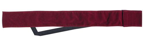 Sterling Burgundy Velvet Cue Case with Shoulder Strap