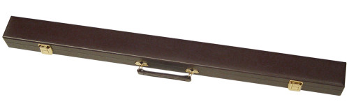 Sterling Brown Box Cue Case for 1 Cue