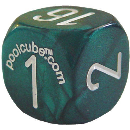 Pool Cube Game, Green