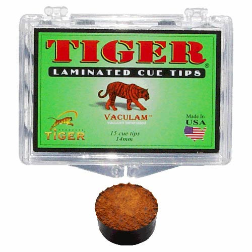 Tiger Laminated Tip, Hard, 14mm