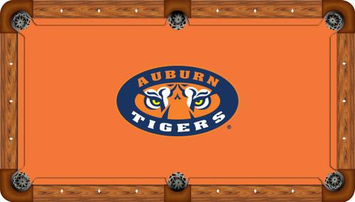 Auburn University Tigers 7' Pool Table Felt