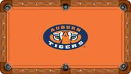 Auburn University Tigers 8' Pool Table Felt