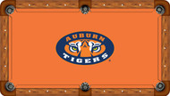 Auburn University Tigers 9' Pool Table Felt