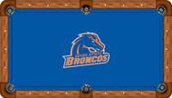 Boise State University Broncos 8' Pool Table Felt