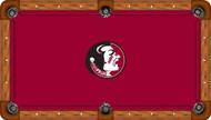 Florida State University Seminoles 9' Pool Table Felt