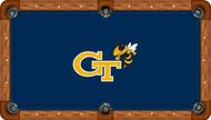 Georgia Tech University Yellow Jackets 9' Pool Table Felt
