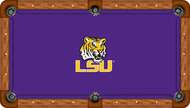 Louisiana State University Tigers 9' Pool Table Felt