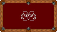 Mississippi State University Bulldogs 7' Pool Table Felt