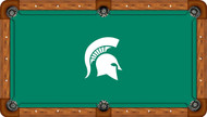 Michigan State University Spartans 7' Pool Table Felt