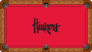 University of Nebraska Huskers 9' Pool Table Felt