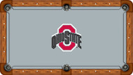Ohio State University Buckeyes 8' Pool Table Felt