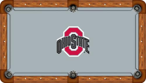 Ohio State University Buckeyes 8u0027 Pool Table Felt