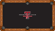 Texas Tech University Red Raiders 9' Pool Table Felt