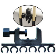 Porper's 6 Cue Clamp Holder