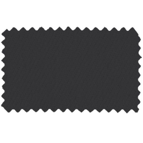 Strachan SuperPro 7' Black Pool Table Cloth