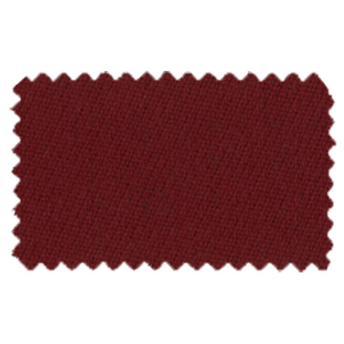 Strachan SuperPro 7' Burgundy Pool Table Cloth