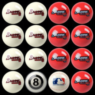 Atlanta Braves Pool Balls