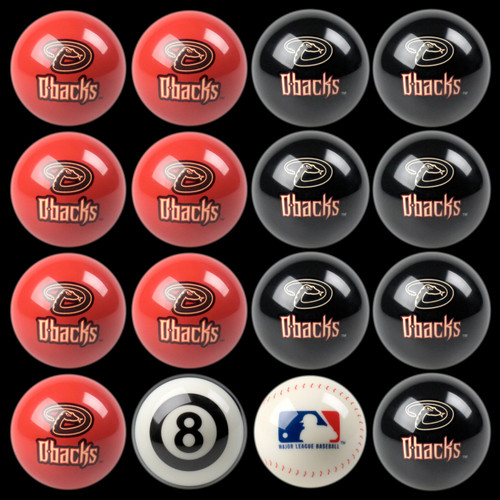Arizona Diamondbacks Pool Balls