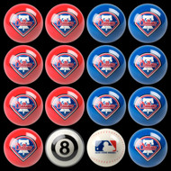 Philadelphia Phillies Pool Balls