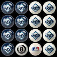 Tampa Bay Rays Pool Balls