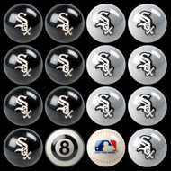 Chicago White Sox Pool Balls