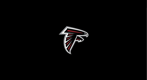 Atlanta Falcons Pool Table Felt for 9 foot table