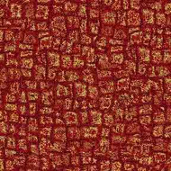 ArtScape 7' Red Mosaic Pool Table Cloth