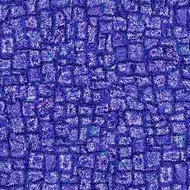 ArtScape 7' Blue Mosaic Pool Table Cloth