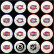 Montreal Canadiens Pool Balls