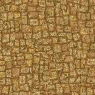 ArtScape 7' Gold Mosaic Pool Table Cloth