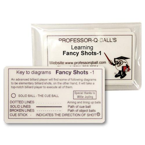 Learning Fancy Shots Cards