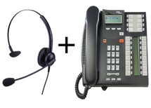 Package Offer on Norstar T7316E Telephone + Eartec 308 Headset
