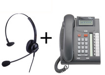 Package Offer on Norstar T7208 Telephone + Eartec 308 Headset