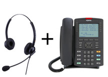 Package Offer on Nortel IP Phone 1230 Phone + Eartec 308D Headset