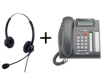 Package Offer on Norstar T7208 Telephone + Eartec 308D Headset