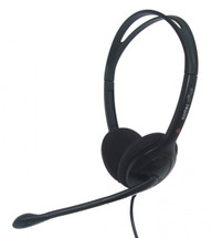 Eartec Office 100 USB Binaural Headset in Black