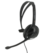 Eartec Office 150 USB Single Ear Headset - Side View 1